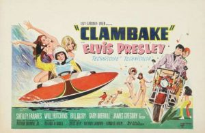 elvis clambake movie poster