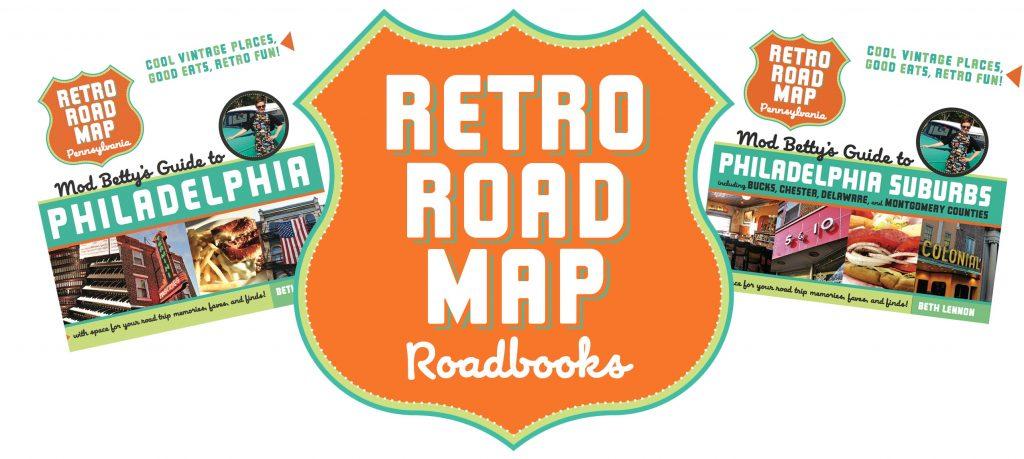Retro Roadmap Roadbook Book Covers