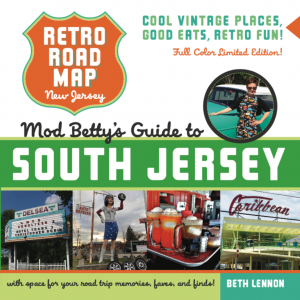Retro Roadbook Cover Full Color South Jersey Edition