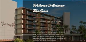 Arizona Tiki Oasis - Hotel Valley Ho - Scottsdale Arizona - April 2019