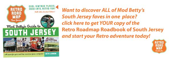 retro roadmap roadbook south jersey graphic