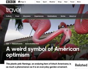 Pink Flamingos BBC Travel Retro Roadmap Mod Betty 2019 1