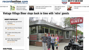 Record Online Village Diner Retro Roadmap