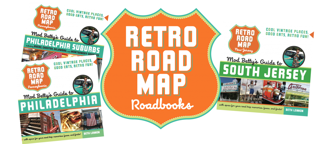Retro Roadmap Roadbook Book covers 2019