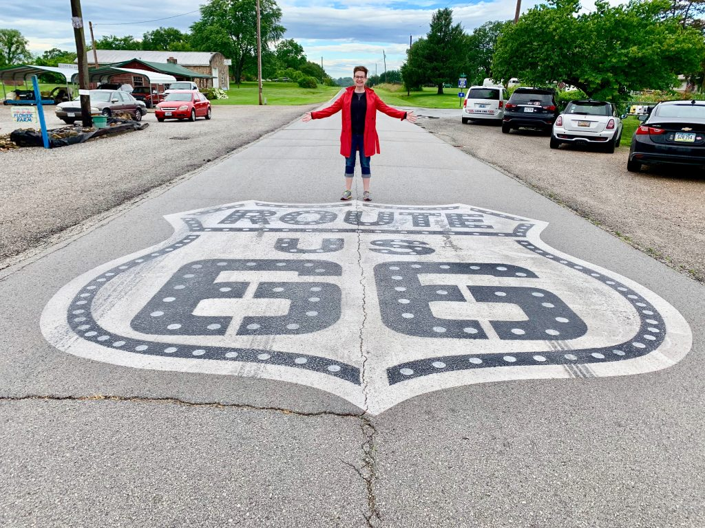 Mod Betty on Route 66 2019