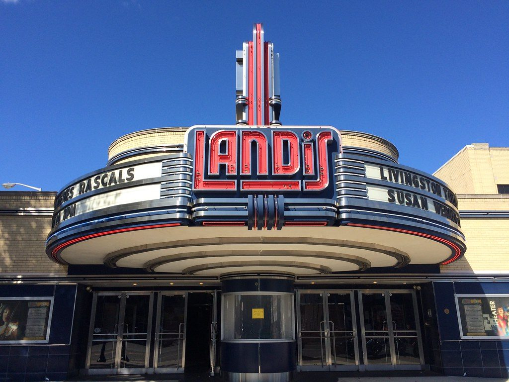 Landis Theater Vineland NJ New Jersey Retro Roadmap