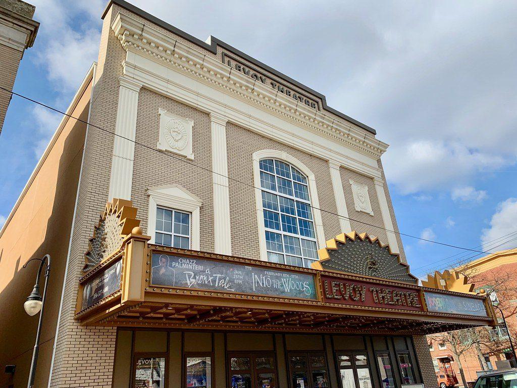 Levoy Theatre Millville NJ Retro Roadmap