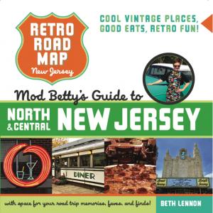 Retro Roadmap Roadbook North Central New Jersey Book Cover