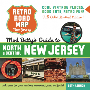 COLOR Retro Roadmap Roadbook North Central New Jersey book cover