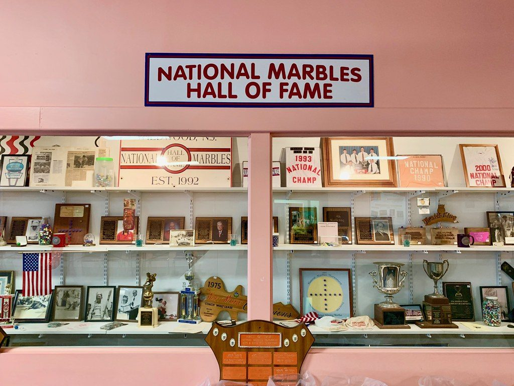 National Marbles Hall Of Fame Wildwood NJ Retro Roadmap