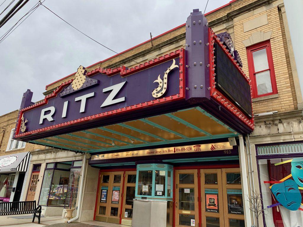 Ritz Theatre Haddon Township NJ Retro Roadmap