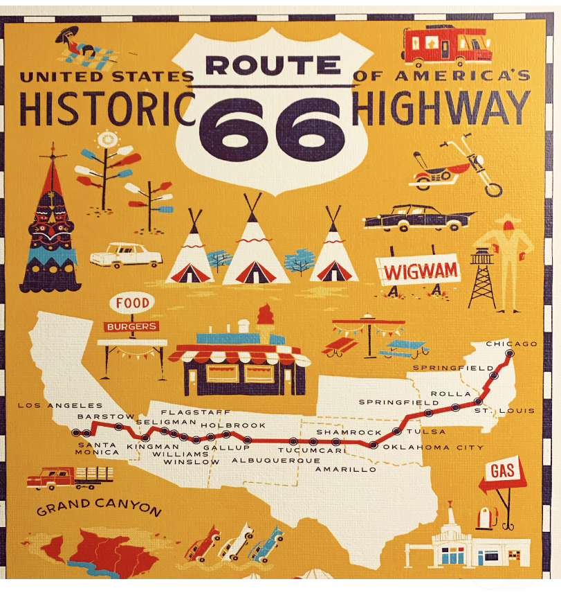 Get Your Kicks on Route 66 -