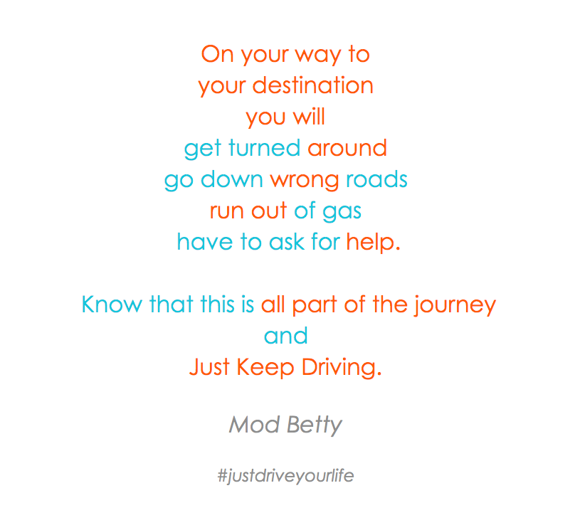 On Your Way To Your Destination You will Journey Just Keep Driving JDYL