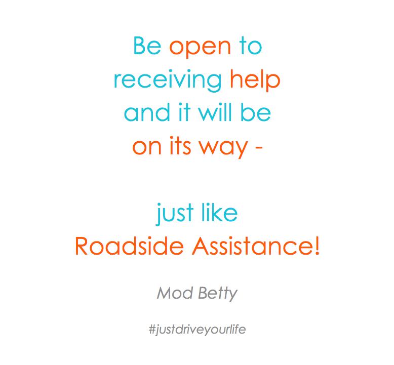 Open Receiving Help Roadside Assistance JDYL