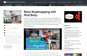 Retro Roadmap Mod Betty The Motelorcyclist