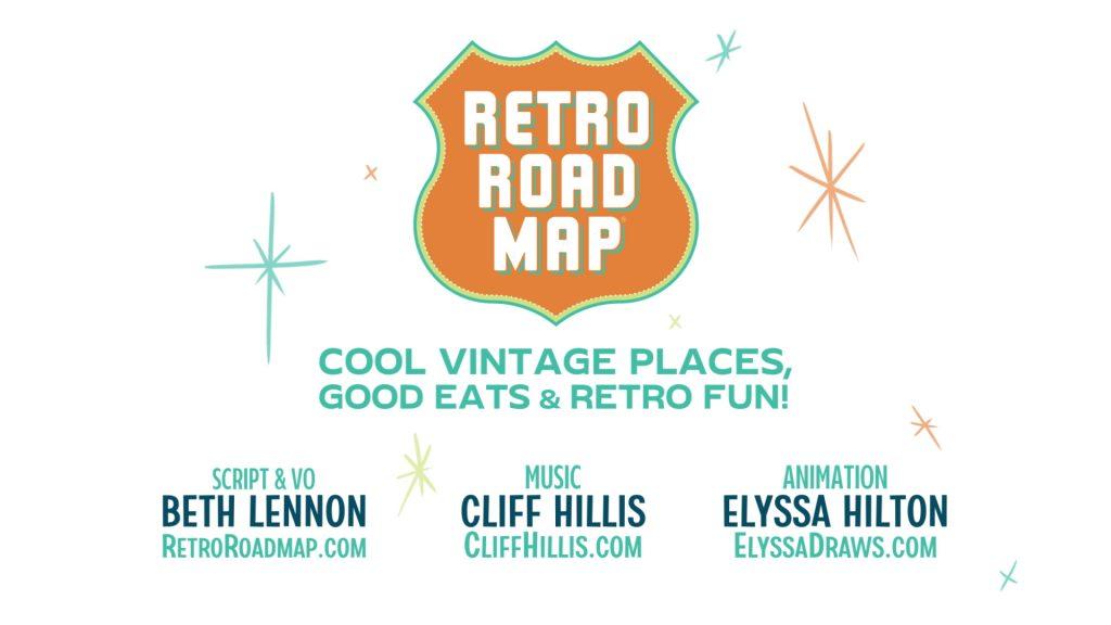 Retro Roadmap Shop Local Animation Mod Betty Elyssa Hilton Cliff Hillis