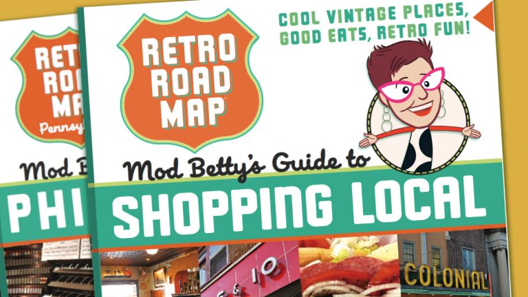 Retro Roadmap Shop Local Animation Mod Betty Elyssa Hilton