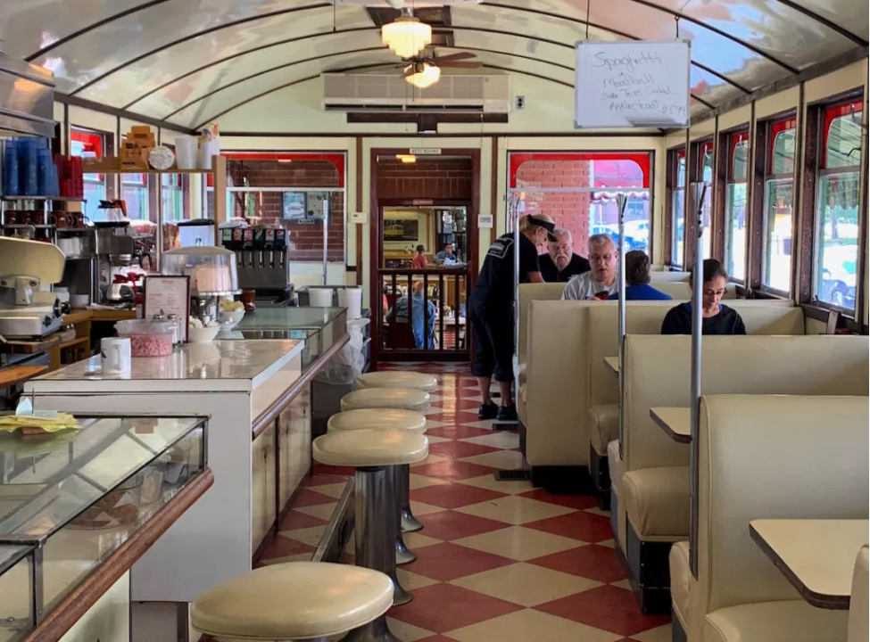 preservation pennsylvania wellsboro diner retro roadmap interior